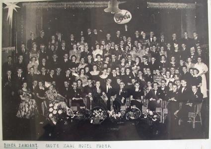 Diner Dansant hotel Faber 1941